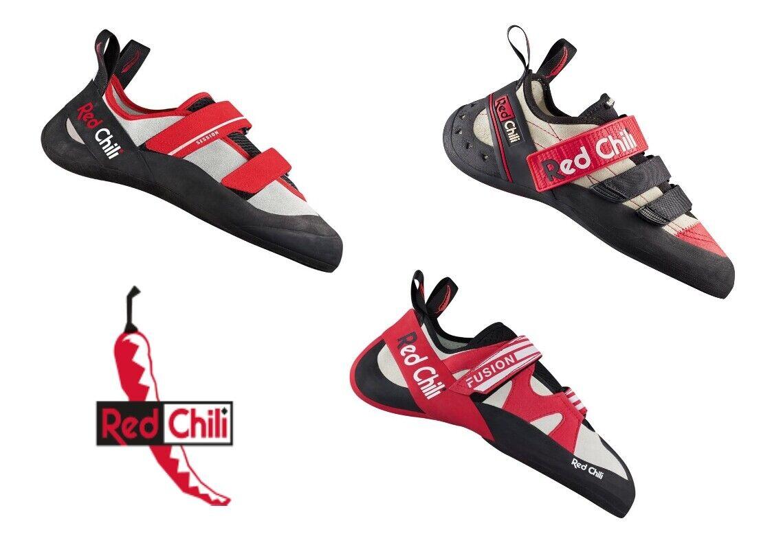 Red Chilli Kletterschuhe Damen Herren Kletter Boulder Hallen Schuhe Vibram 40%