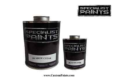 1 Pint Kit - 2K SHOW CLEAR 1 PINT KIT INCLUDING ACTIVATOR, Auto Paint, Motorcycle, HOK, PPG
