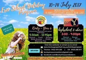 Free school holiday program Bexley Rockdale Area Preview