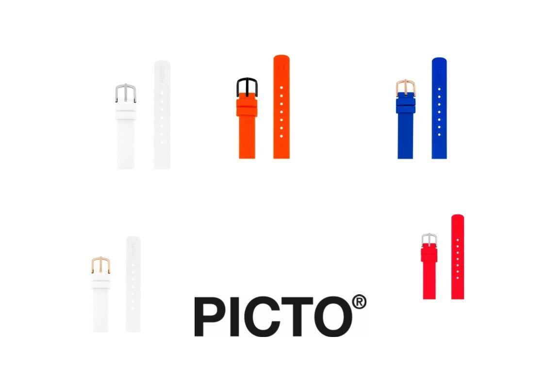 Picto Silikon Uhrenarmband 12mm
