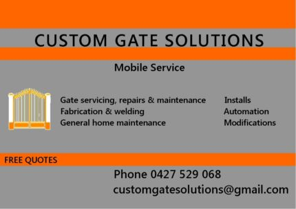 Custom Gate Solutions Quinns Rocks Wanneroo Area Preview