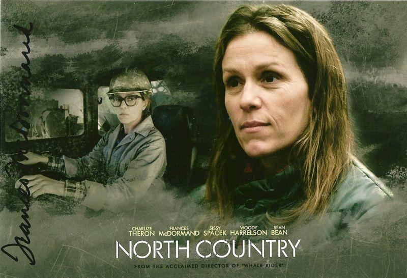 Frances McDormand signed Fargo North Country