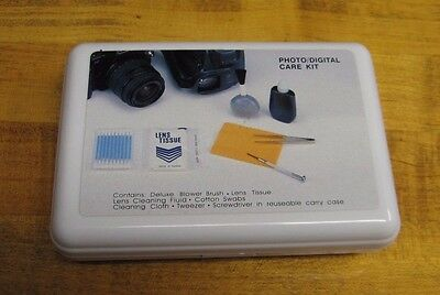 Digital Care Kit (New  Photo Digital Care Kit 7 Pieces in Hard Plastic Case)