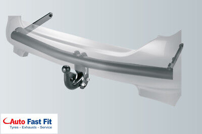 2007 Onwards WOHC Fixed Swan Neck Brink Towbar for Volvo V70 Estate