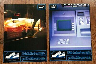 Original Vintage Retro 1998 UK Magazine Double Page Advert Ad PUMA Easy Rider