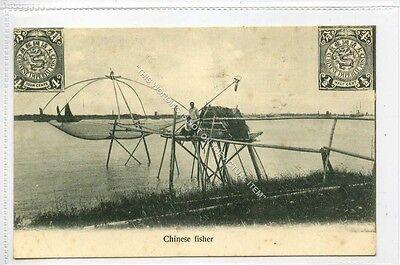 (Ga3944-468) Chinese Fisher, China c1910 VG-EX, Kingshill #54