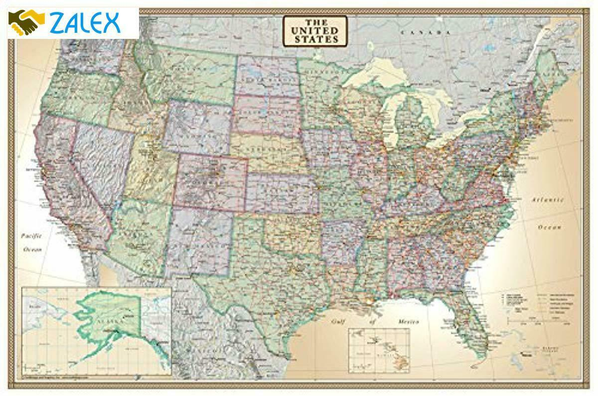 United States Map Europe Map Big Map Of United States