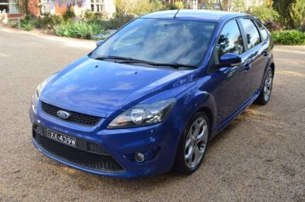 2008 Ford Focus XR5 Turbo - Leather + Full Service History Virginia Playford Area Preview