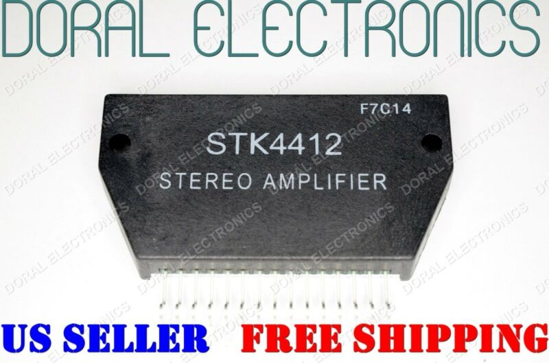 STK4412 Free Shipping US SELLER Integrated Circuit IC STEREO POWER AMPLIFIER