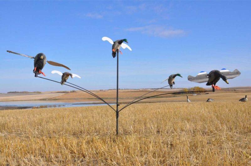 Mallard Motel - Duck Motion Decoy System for spinning wing decoy (MOJO)