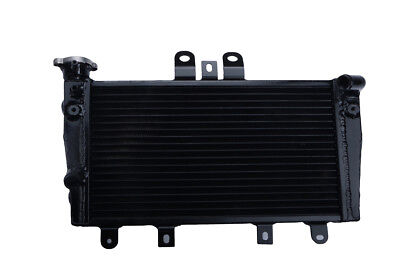 ALUMINUM RACING RADIATOR FOR TRIUMPH SPEED 1050 TRIPLE 2005 2010 BLACK