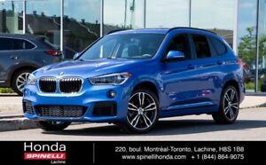 2018 BMW X1 XDrive28i M SPORT PACk  COMME NEUF LIKE NEW! M SPO