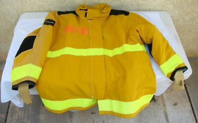 Lion Janesville Firefighter Fireman Turnout Gear Jacket Size 56.32.r - D H2