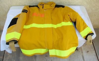 Lion Janesville Firefighter Fireman Turnout Gear Jacket Size 56.32.r - D H2