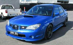 2006 Subaru Impreza S MY06 WRX Club Spec 9 AWD Blue 5 Speed Manual Sedan Lilydale Yarra Ranges Preview