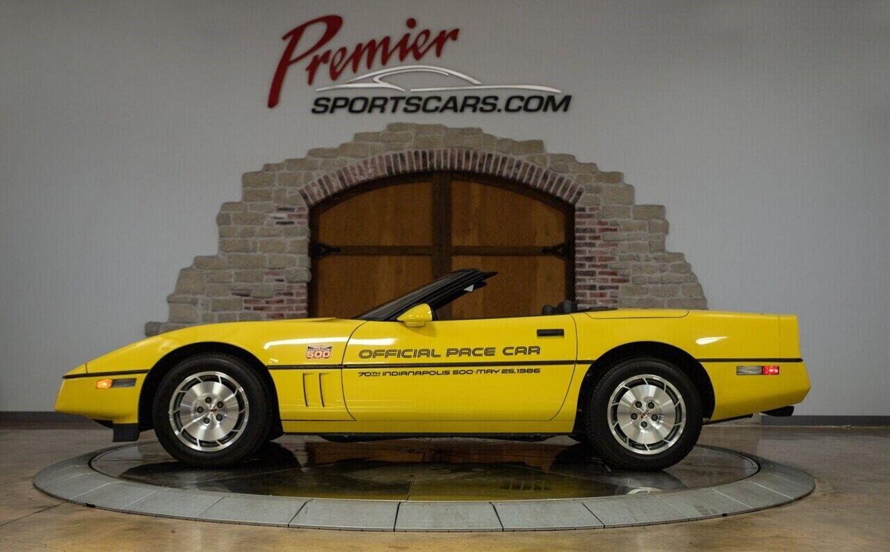 1986 Yellow Chevrolet Corvette   | C4 Corvette Photo 6