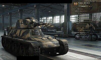World of Tanks *RARE* Pz.Kpfw. 38H 735(f) Micro-Maus Premium Tank Code