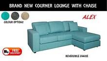 BRAND NEW Corner Lounge - Sofa with Chaise DELIVERED FREE  Value New Farm Brisbane North East Preview