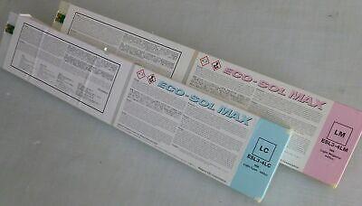 Genuine Oem Roland Ecosol Max 440ml Light Cyan Light Magenta - Partially Used
