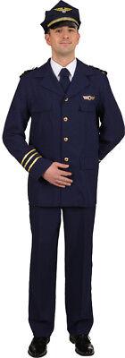 Flugkapitän Kostüme (Orl - Flugkapitän Herren Kostüm als Pilot zu Karneval Fasching)