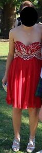 Sherri Hill Red Formal/Cocktail Dress - AustralianSize 12 Woolooware Sutherland Area Preview