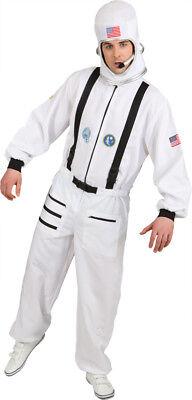 Herren Kostüm Astronaut Overall zum Verkleiden an Karneval Fasching