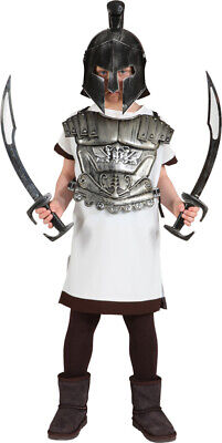 Gladiator Krieger Oberteil Kinderkostüm NEU - Jungen Karneval Fasching - Gladiator Kostüm Kinder