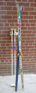 X-Country/Nordic Skis and Poles