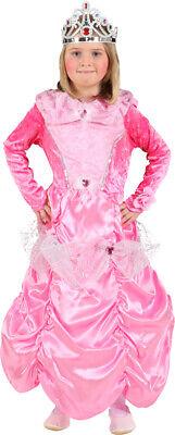 Mädchen Rosa Prinzessin Pfirsich Märchen Mario Kostüm Kleid - Mario Mädchen Kleid Kostüm