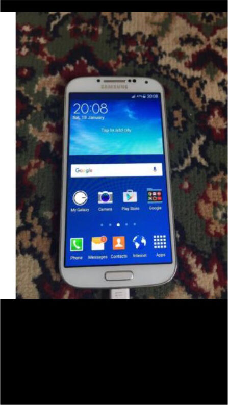 Samsung galaxy s4(16gb) unlockedin Bradford, West YorkshireGumtree - Samsung galaxy S4 (16gb ) All networks Fully working order Mint condition Collection and delivery available Thanks