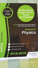 National 5 Physics Model Papers Hodder Gibson