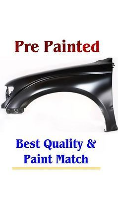 New PRE PAINTED Driver LH Fender for 2001-2004 Toyota Tacoma models W/O Flares