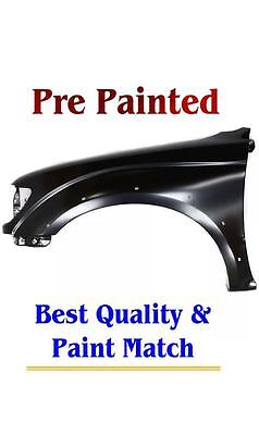 New PRE PAINTED Driver LH Fender for 2001-2004 Toyota Tacoma models With Flares
