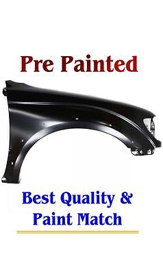 New PRE PAINTED Passenger RH Fender for 2001-2004 Toyota Tacoma models W Flares