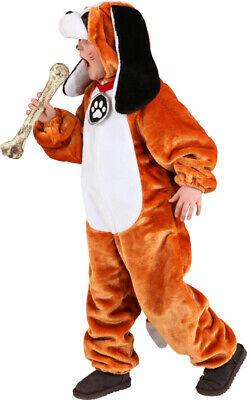 Mädchen Jungen Deluxe st Bernards Hund Overall Tier Kostüm Kleid Outfit