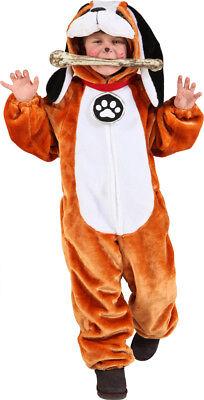 Bernhardiner Kinder Kostüm als Hund verkleiden zu Karneval Fasching