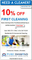 Residential & Commercial Cleaning - Professional. Reliable.