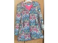 Brand new girls designer coat age 10