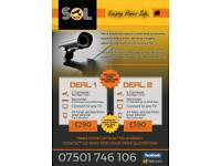 SECURITY CAMERAS CCTV CHEAP FORM £99 !!! WE BEAT EVERYONE'S PRICE