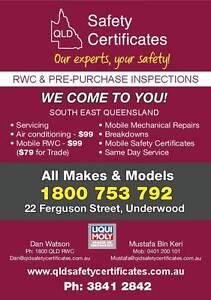 QLD Safety Certificates Brisbane City Brisbane North West Preview
