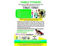 Family Fitness - 2 hrs of Zumba, fitness and Basketball sessions for Women, Girls & Children. FREE!!