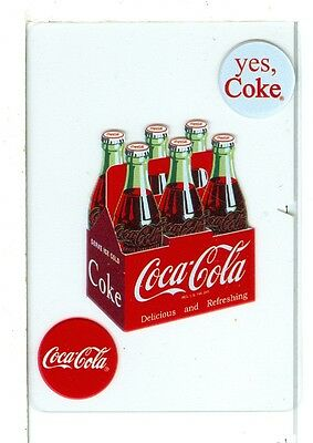 Pack Single Card - Single Wide Playing Card Coca Cola