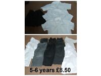 boys school uniforms 5-8 years (more pics in ad)