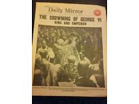 Daily Mirror May 13th 1937