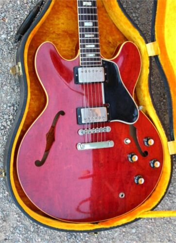 Vintage Early 1965 Gibson ES-335 with 1964 Appointments - Very Clean - OHSC