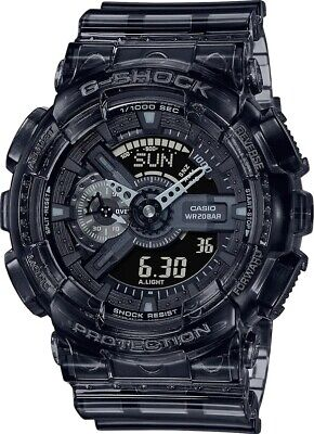 New Casio G-Shock Black Transparent Pack Series Analog-Digital Watch GA110SKE-8A