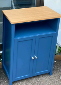 Blue 2 Door storage unit only £65. Real Bargains assembled Clearance O