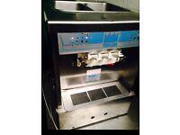 TAYLOR 161 ICE CREAM/ FROZEN YOGHURT MACHINE. 2 FLAVOURS AND TWIST
