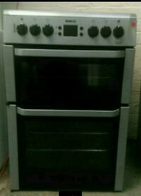 BEKO DOUBLE OVEN ELECTRIC COOKER **FREE LOCAL DELIVERY 3 MONTHS GUARANTEE**