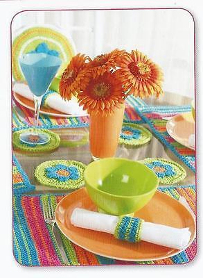 Шаблоны Crochet Pattern ~ Summer Placemat,